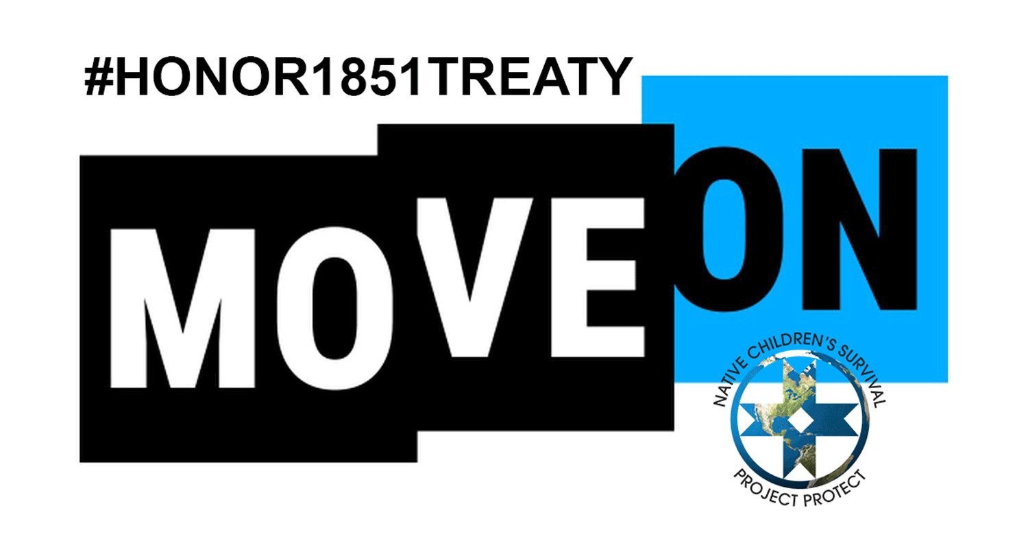 SUPPORT OUR TREATIES RIGHTS SIGN THE #HONOR1851TREATY PETITION HERE