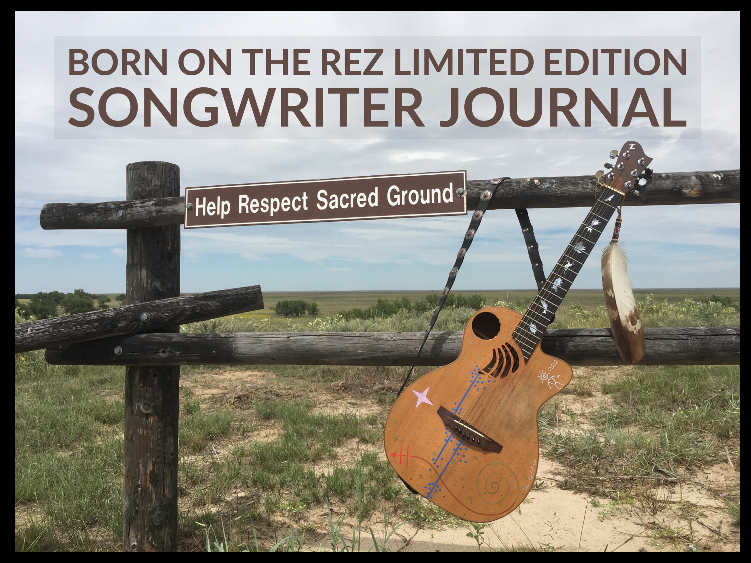 Born On The Rez Limited Edition Songwriter Journal (Black).png