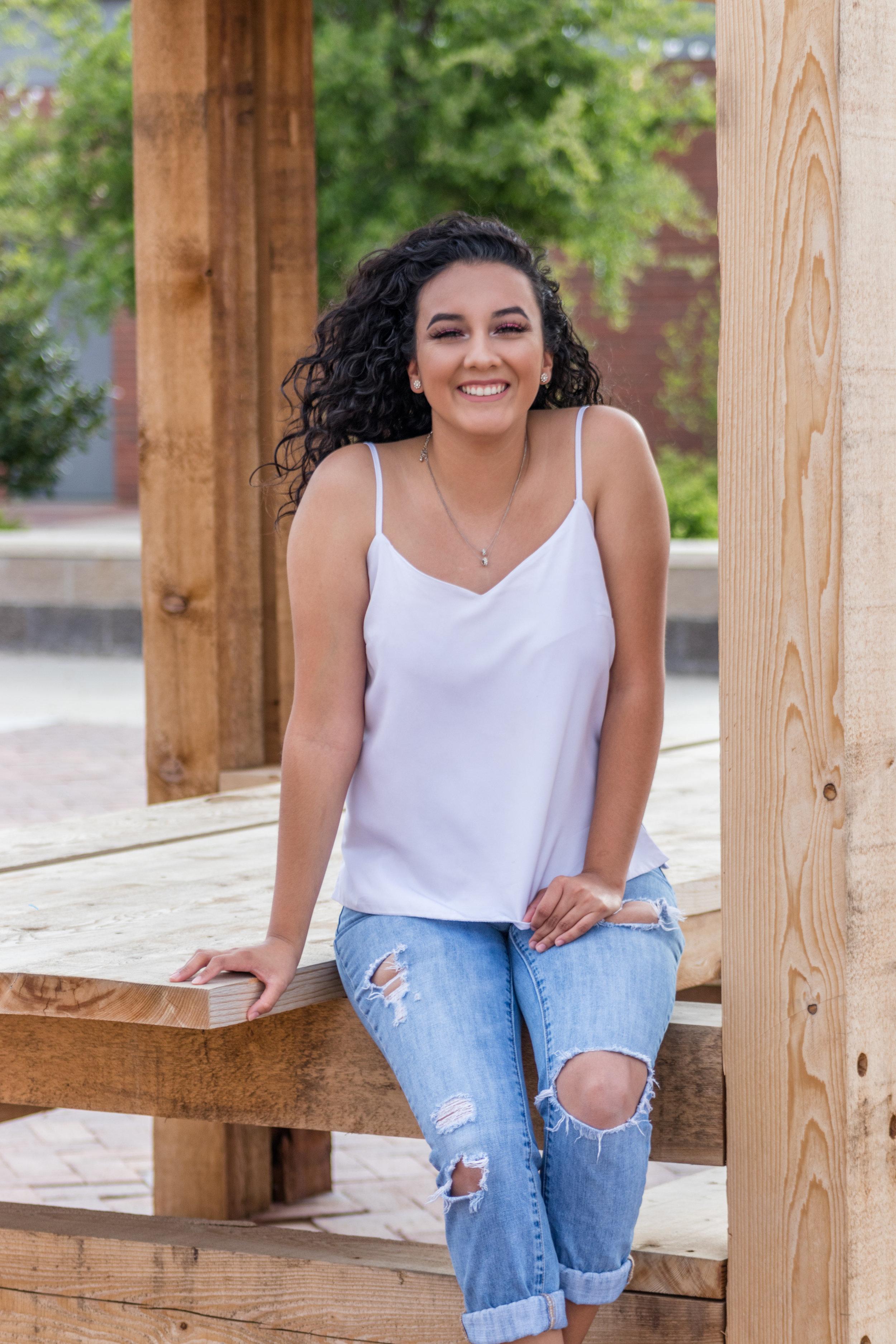 #42 Stephanie *Azanita* Marquez - VP of Recruitment   Fall 2016 - Epsilon Line  Nationality: Mexican-American  Major: Biology