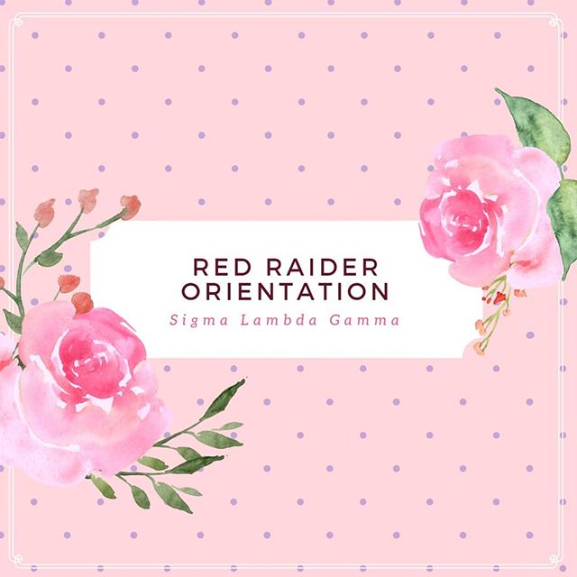 It's a wonderful day in raiderland, and what better way to kick off the summer session than with RRO? We'll be there every Tuesday, Thursday, and Sunday from 4-5pm spreading information about the LARGEST and FASTEST growing multicultural sorority in the nation💕