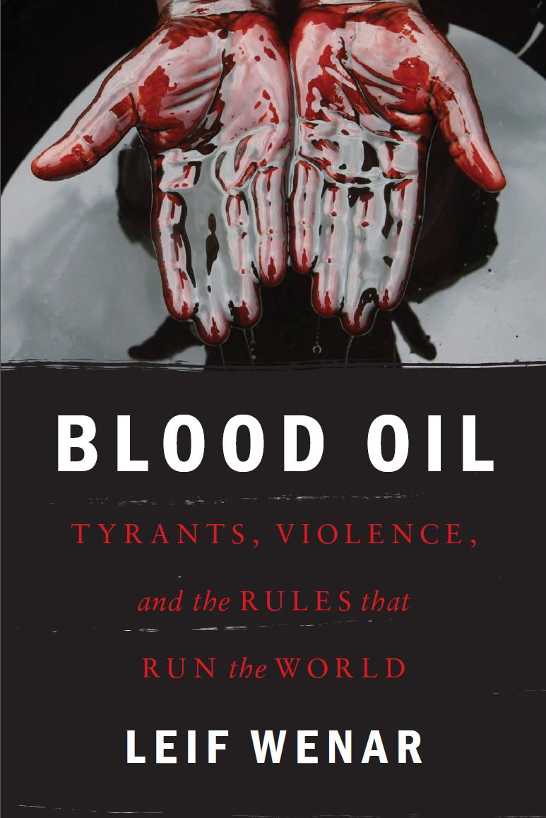 - Leif Wenar, Blood Oil (Oxford University Press)Natural resources like oil and minerals are the largest source of unaccountable power in the world. Petrocrats spend resource money on weapons and oppression; militants spend resource money on radicalization and ammunition. Resource-fueled authoritarians and extremists present endless crises to the West--and the source of their resource power is ultimately ordinary consumers, doing their everyday shopping at the gas station and the mall.In Blood Oil, one of today's leading political philosophers goes behind the headlines in search of the hidden global rule that thwarts democracy and development-and that puts shoppers into business with some of today's most dangerous men. Leif Wenar discovers a rule that once licensed the slave trade and apartheid and genocide, a rule whose abolition has marked some of humanity's greatest triumphs--yet a rule that still enflames tyranny and war and terrorism through today's multi-trillion dollar resource trade.Blood Oil shows how the West can now lead a peaceful revolution by ending its dependence on authoritarian oil, and by getting consumers out of business with the men of blood. The book describes practical strategies for upgrading world trade: for choosing new rules that will make us more secure at home, more trusted abroad, and better able to solve pressing global problems like climate change. Blood Oil shows citizens, consumers, and leaders how we can act together today to create a more united human future.
