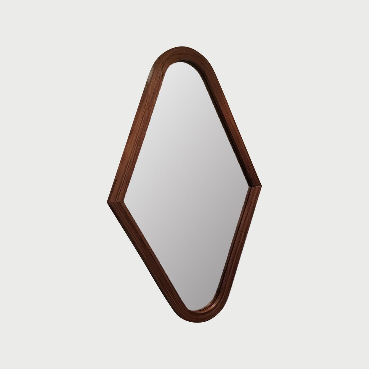 Bent Laminate Mirror