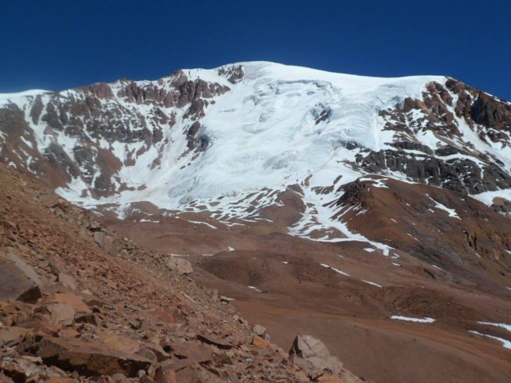 Tapado Glacier, Coquimbo, Chile, March 2012 (Photo by me)