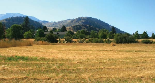 Photo by Marcy Stamper  The Methow Housing Trust hopes to build as many as six new homes in the next two years at this property in Twisp. The trust will soon solicit design proposals.