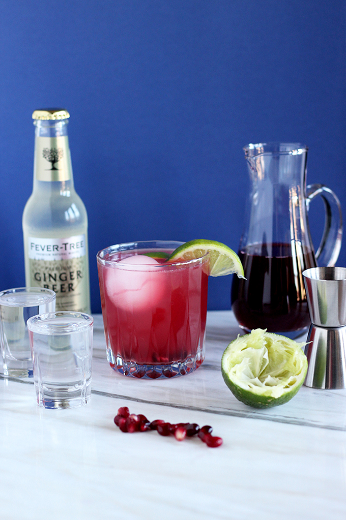 Pomegranate Mule | The Cheers Years