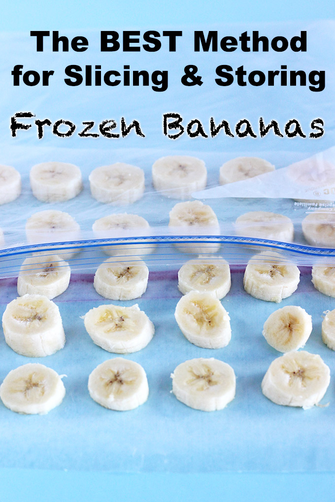 The BEST Method for Slicing & Storing Frozen Bananas | CheersYears.com