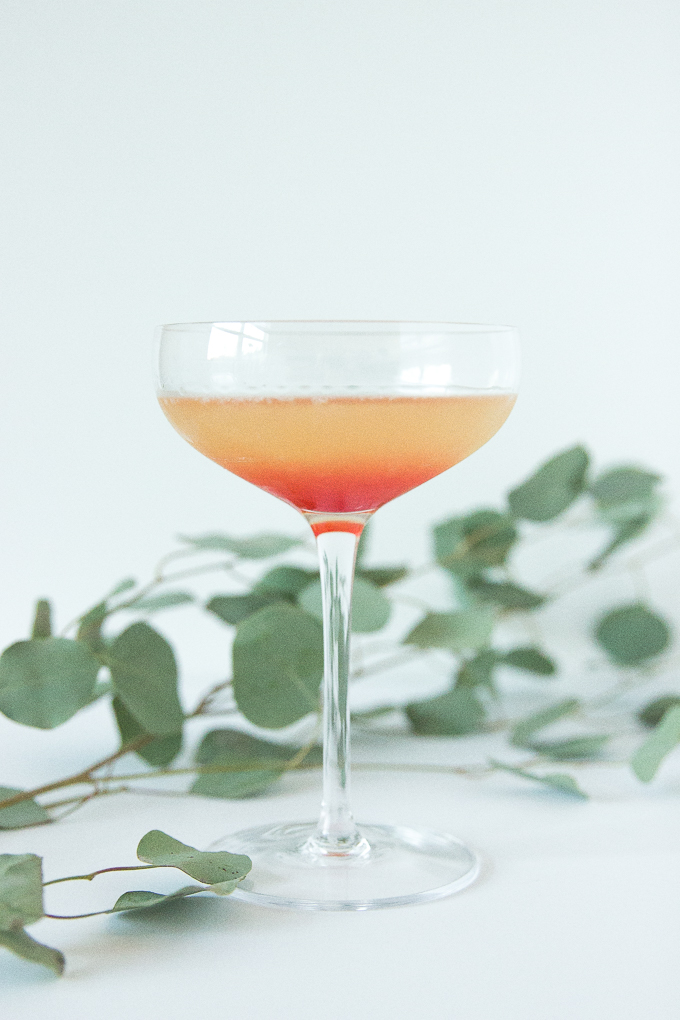 Turkish Delight Cocktail - only 5 ingredients and SO pretty!
