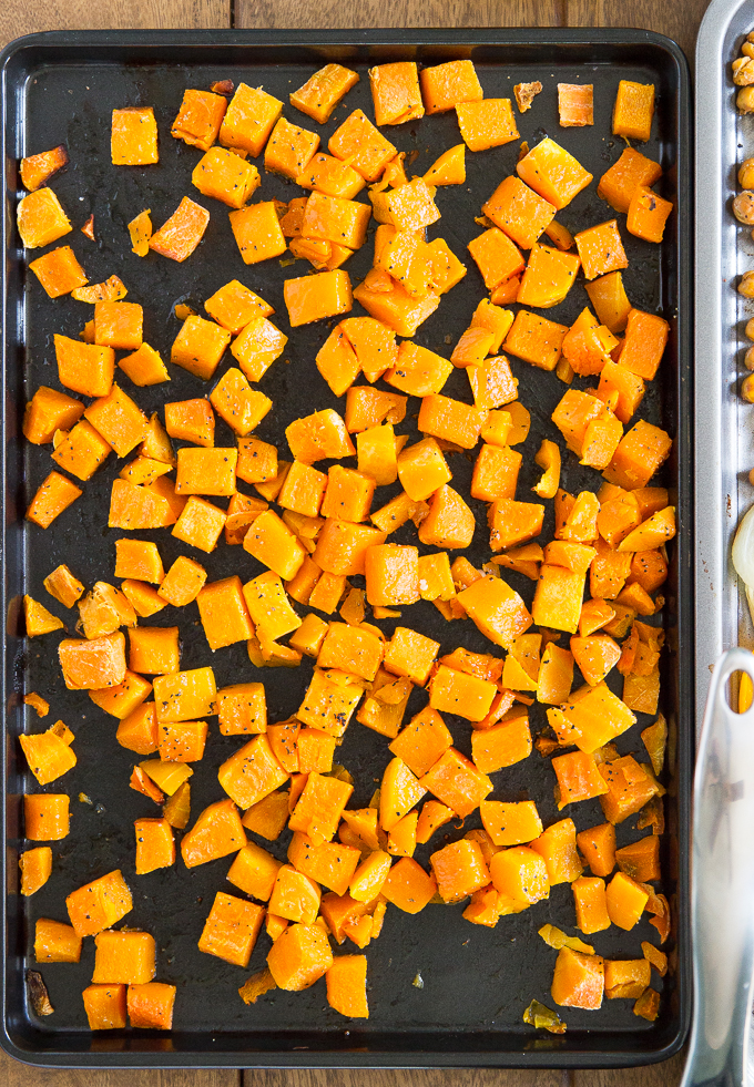 Butternut Squash Meal Prep will make Amazing Lunches All Week! #mealprep #healthylunches.jpg