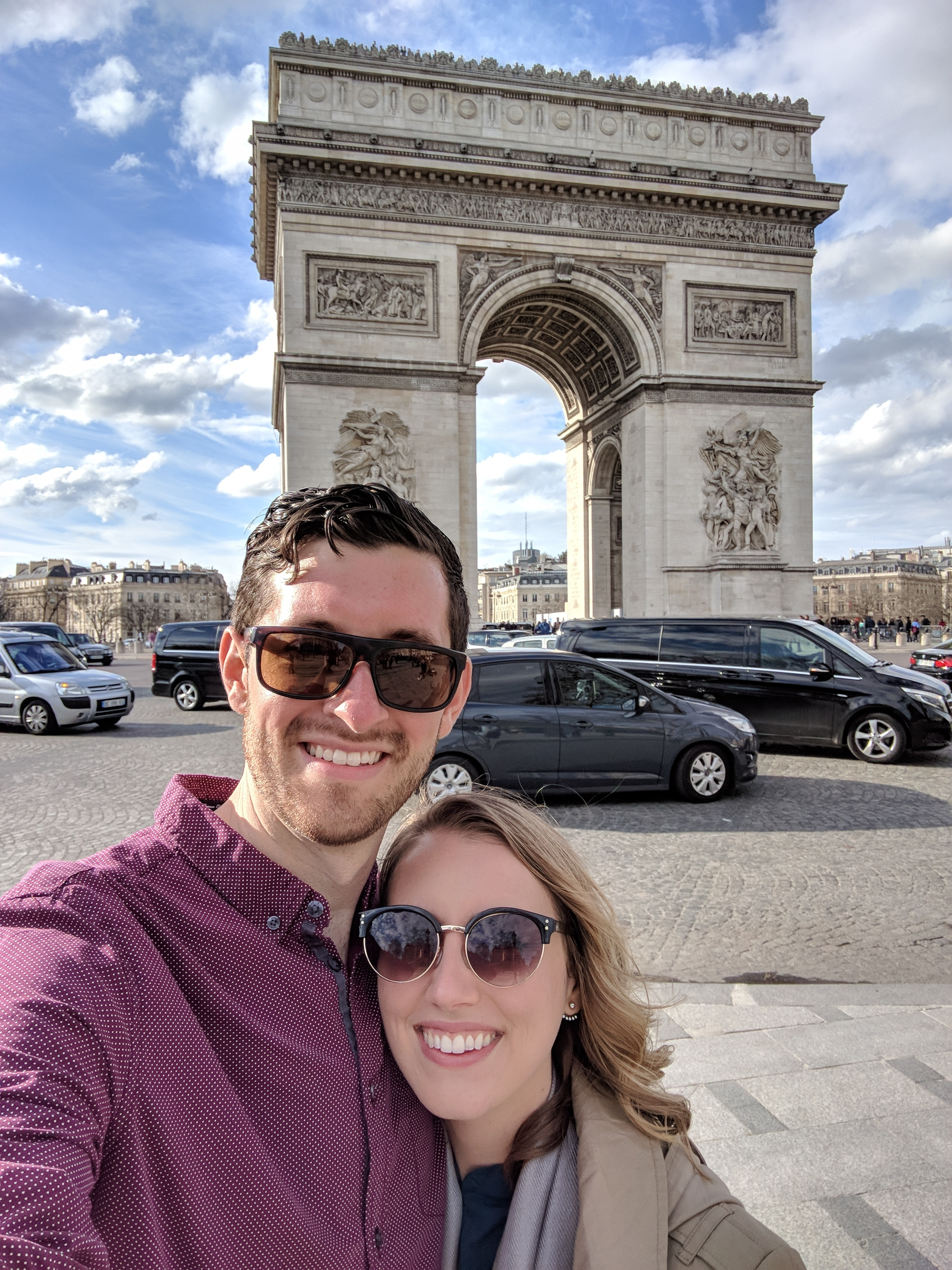 With love from Mallory + John in Paris! | Cheers Years Blog #parislove