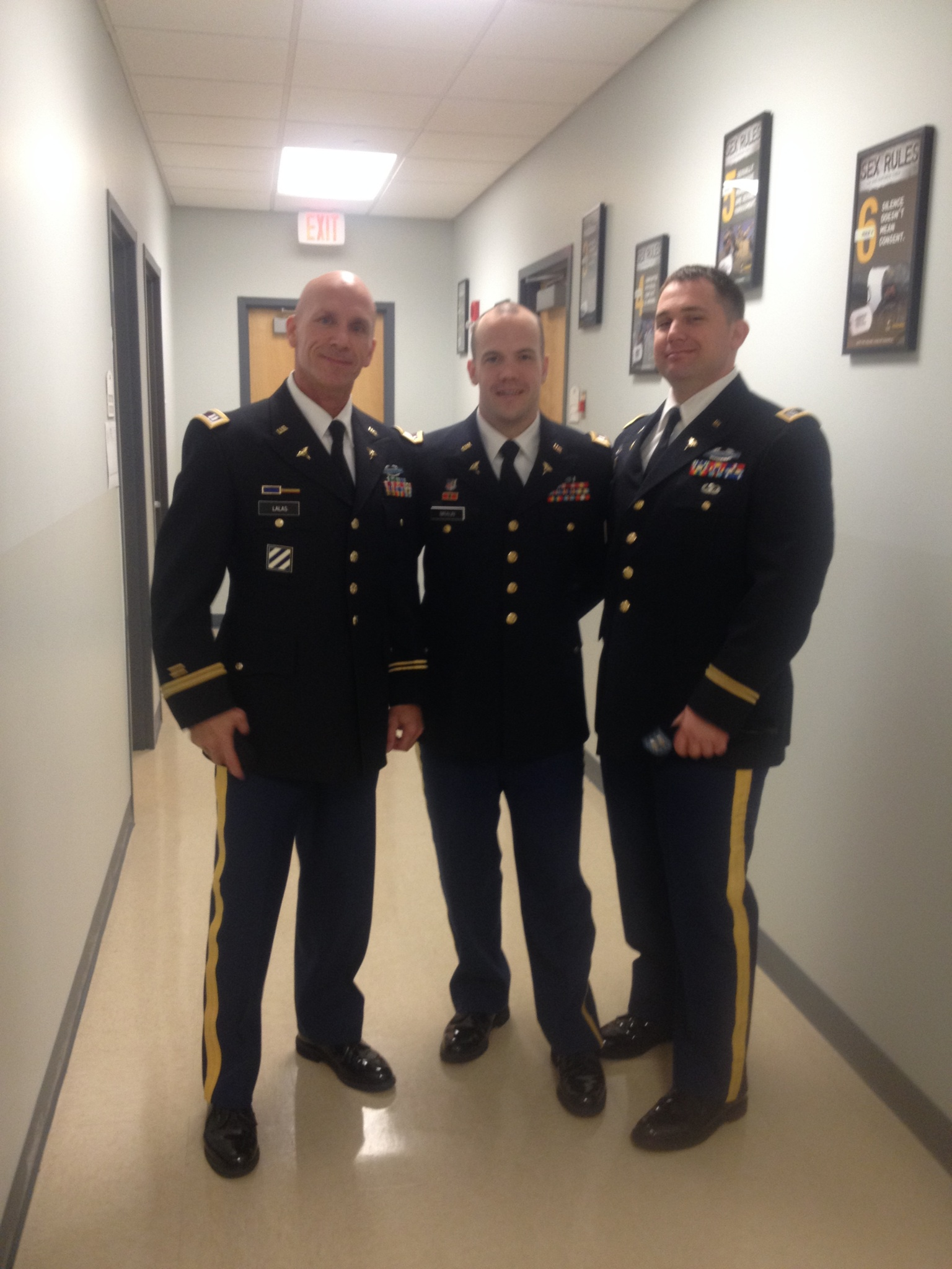 My life long friend Chris (far right) whom I've always called brother. I proudly share he has done 5 tours of duty for his country.