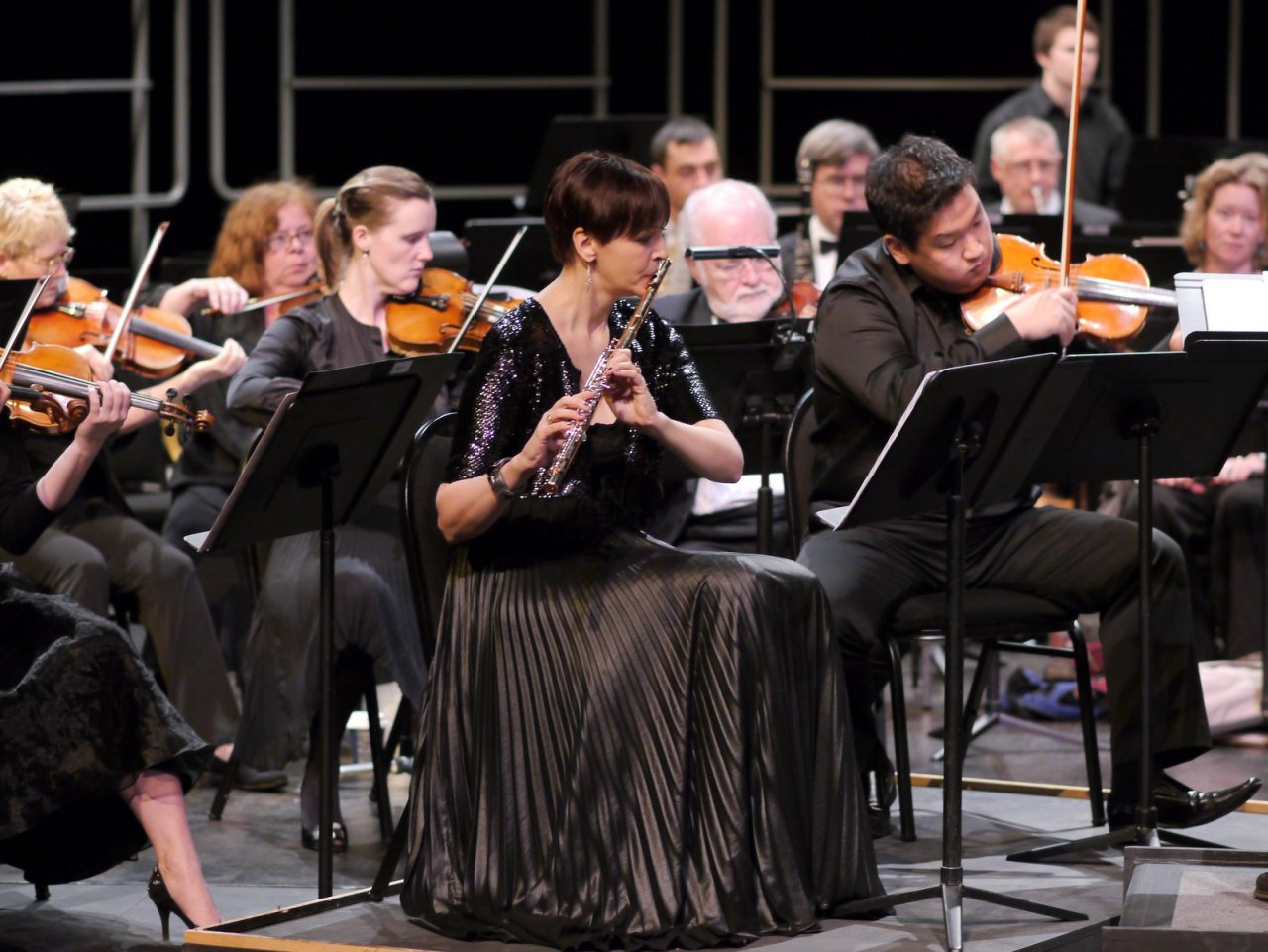 In concert with the West Coast Symphony Orchestra, Photographer Slaven Radic