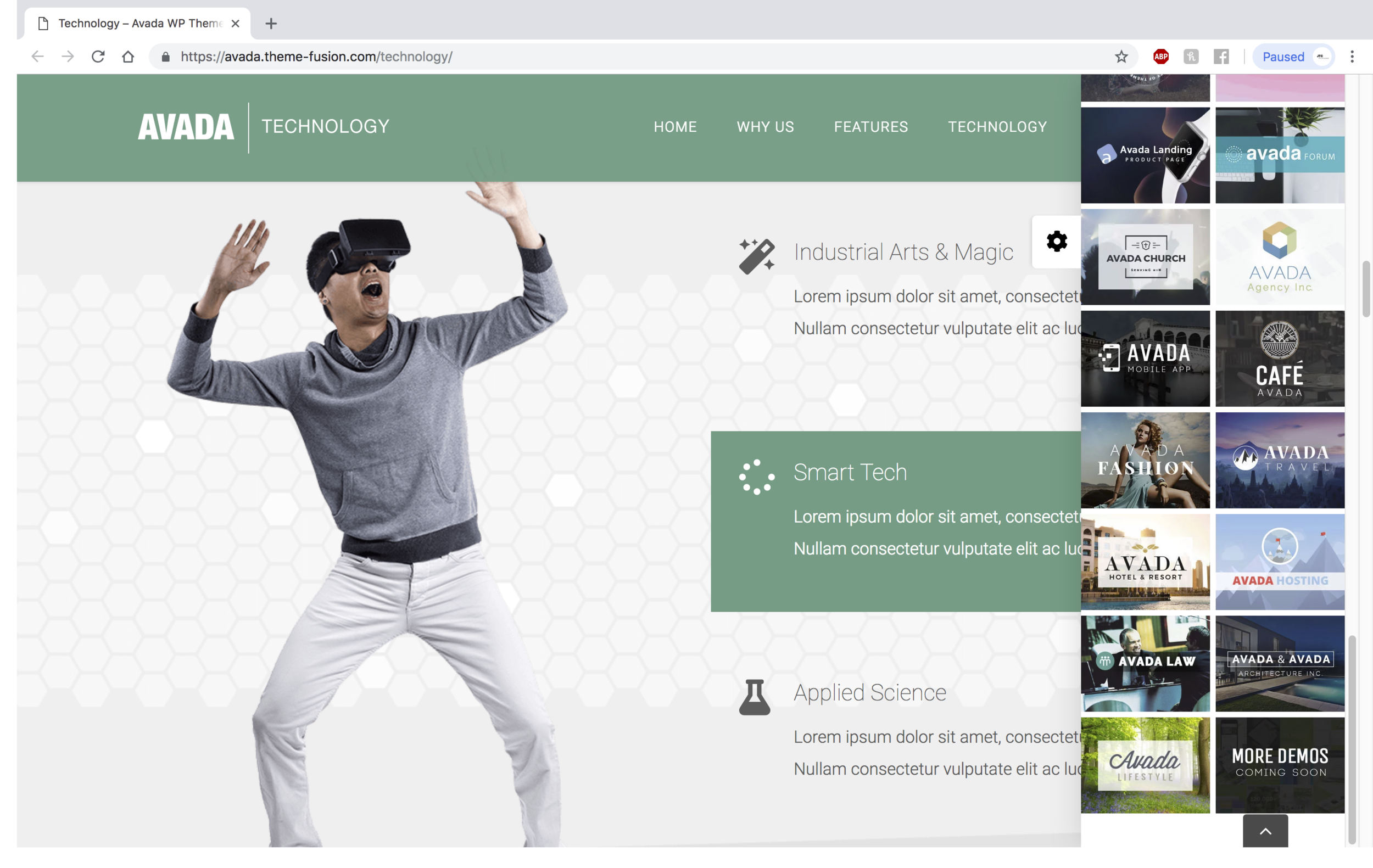 Wordpress Style Guide: Avada Tech Theme Plugin