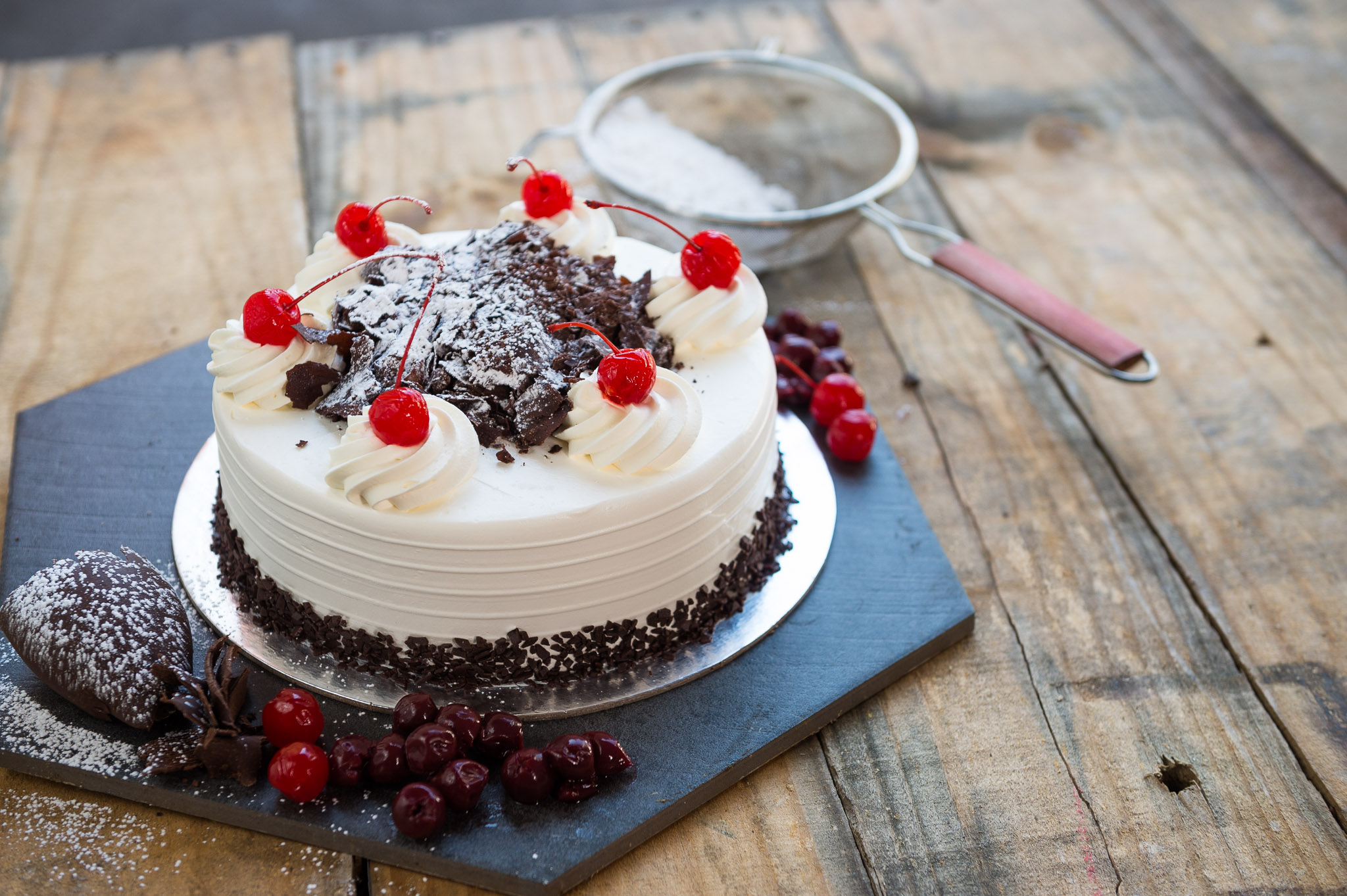 Chocolate and Jam Torte