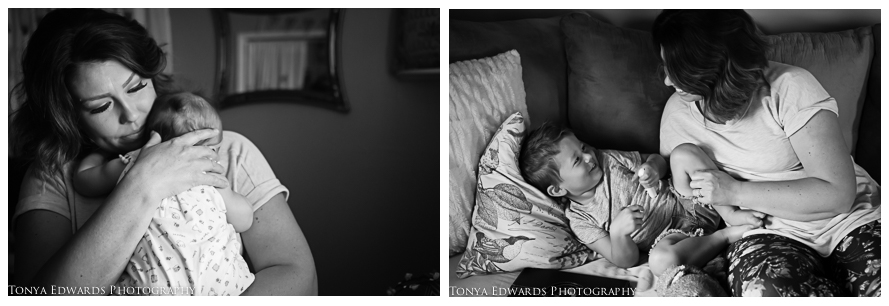 Tonya Edwards | Lifestyle Family Photographer | a mama and her babies