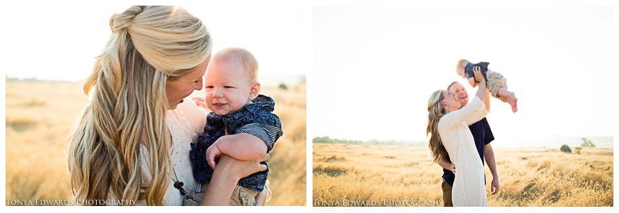Tonya Edwards | Oroville Family Photographer | parents with new baby lifestyle photography