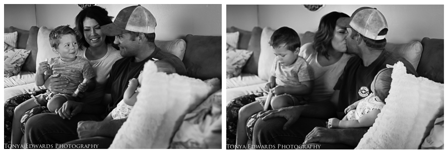 Tonya Edwards | Oroville Family Photographer | what to wear to an in home family photo session