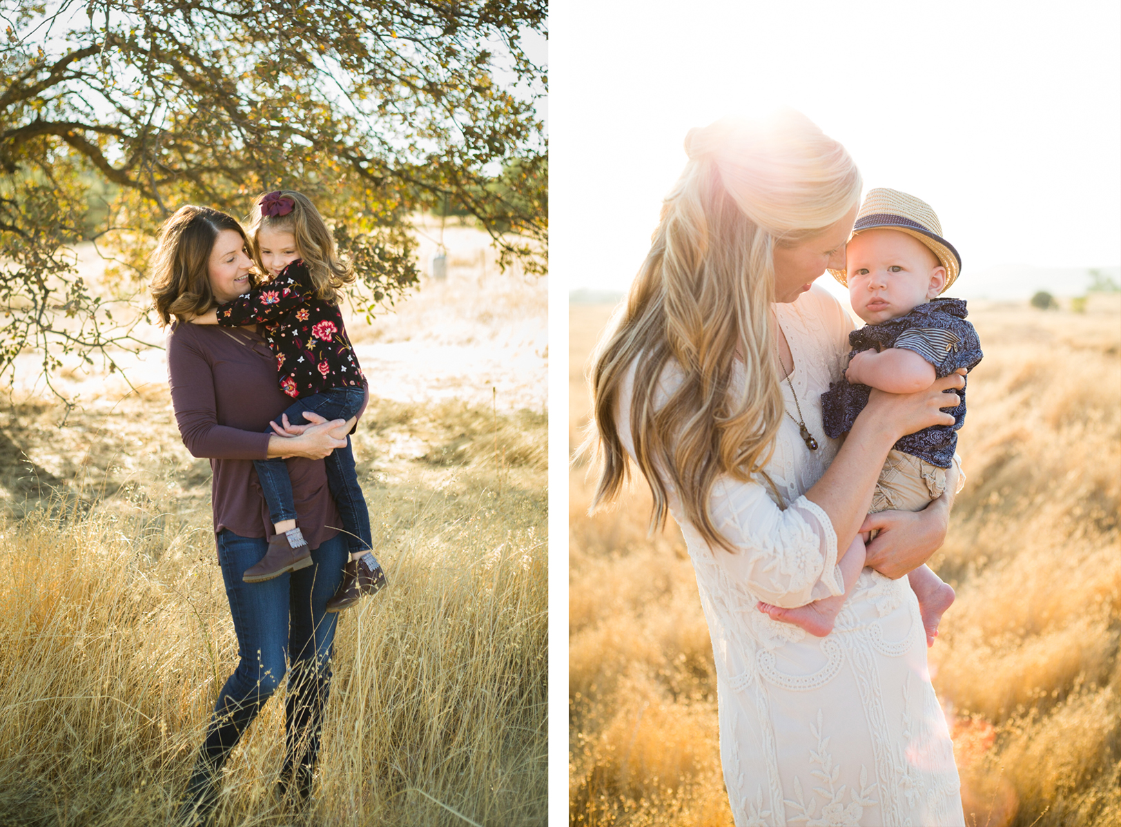 Tonya Edwards | Oroville Photographer | mothers holding children