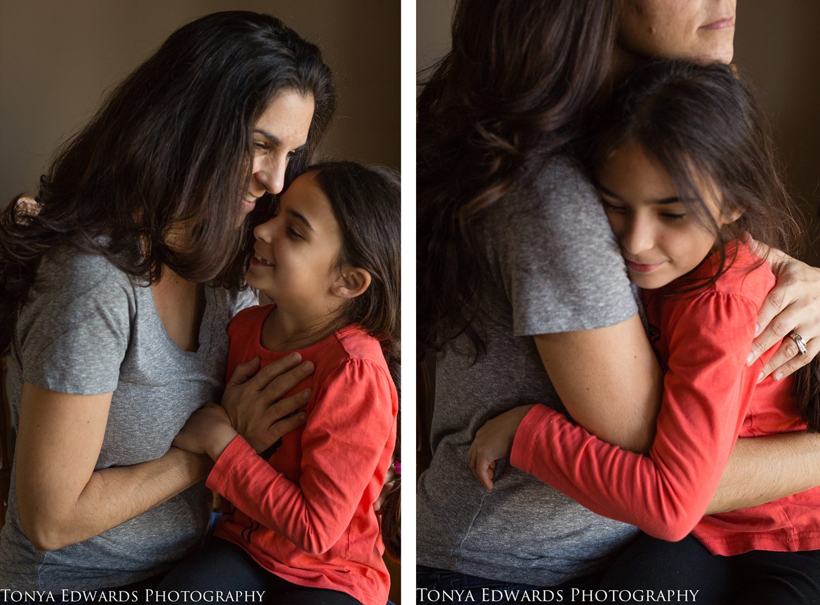 Tonya Edwards | Oroville Photographer | mommy and daughter hugging