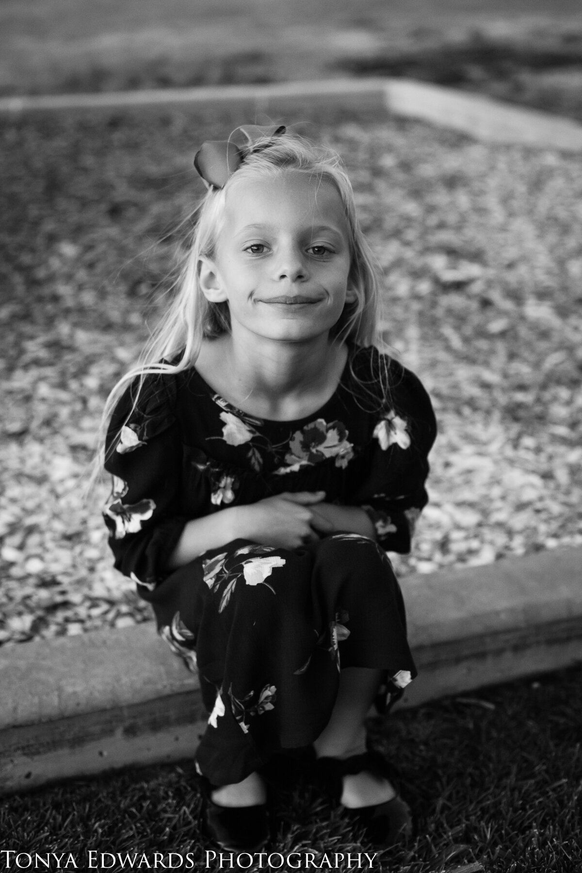 Tonya Edwards | Oroville Photographer | portrait of young girl