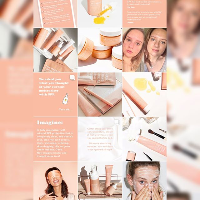Oh @gotoskincare, oh @zotheysay - where do we even BEGIN to talk about your product and #marketinggenius with our Mini Masterclass #2?⠀⠀⠀⠀⠀⠀⠀⠀⠀ --⠀⠀⠀⠀⠀⠀⠀⠀⠀ Okay fine, we'll start at the easy part: that totally (now) iconic go-to peachy pink. What started as just threading one single colour scheme through the feed that correlated to the product packaging and website, became a truck, merchandise and goodness knows what next. The point? We now associate that colour with the Go To brand. That's gold (or peach).⠀⠀⠀⠀⠀⠀⠀⠀⠀ --⠀⠀⠀⠀⠀⠀⠀⠀⠀ 2. The tone. We all know Zoe is a total word wizard, but my OH my has she kept that tone consistent! From writing it herself to briefing the team to do the same, they've ridden the tone of voice wave and now they have an audience who know what they're going to get when they see a post - and they LOVE it. Consistency is KEY!⠀⠀⠀⠀⠀⠀⠀⠀⠀ --⠀⠀⠀⠀⠀⠀⠀⠀⠀ 3. Testimonials; use them! Go To uses testimonials to their absolute advantage and rather than being sales-y they're actually really helpful. Reading them allows the customer to hear about other experiences, and decide if the products are right for them. Reviews can be useful, remember! They're not just for dungeon internet trolls!⠀⠀⠀⠀⠀⠀⠀⠀⠀ --⠀⠀⠀⠀⠀⠀⠀⠀⠀ 4. UGC: user generated content. A tactic used by many beauty brands, uploading images of actual real-life people using the products helps us realise we too are real-life people and Go-To is for the people, people! ⠀⠀⠀⠀⠀⠀⠀⠀⠀ --⠀⠀⠀⠀⠀⠀⠀⠀⠀ Phew! Well done @gotoskincare 🍑