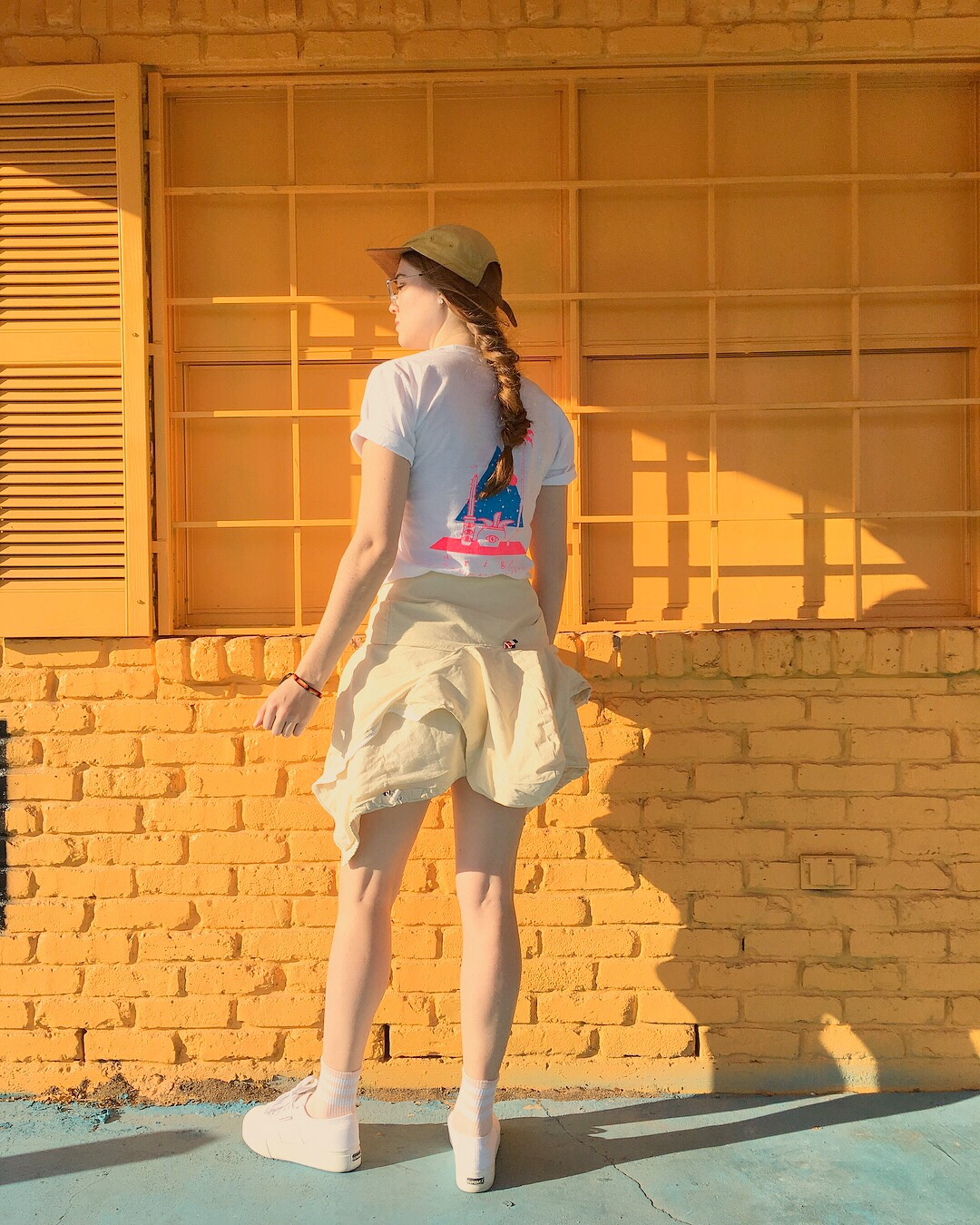 Drigo hand screen printed shirts in Deep Ellum, Dallas, Texas at the yellow house