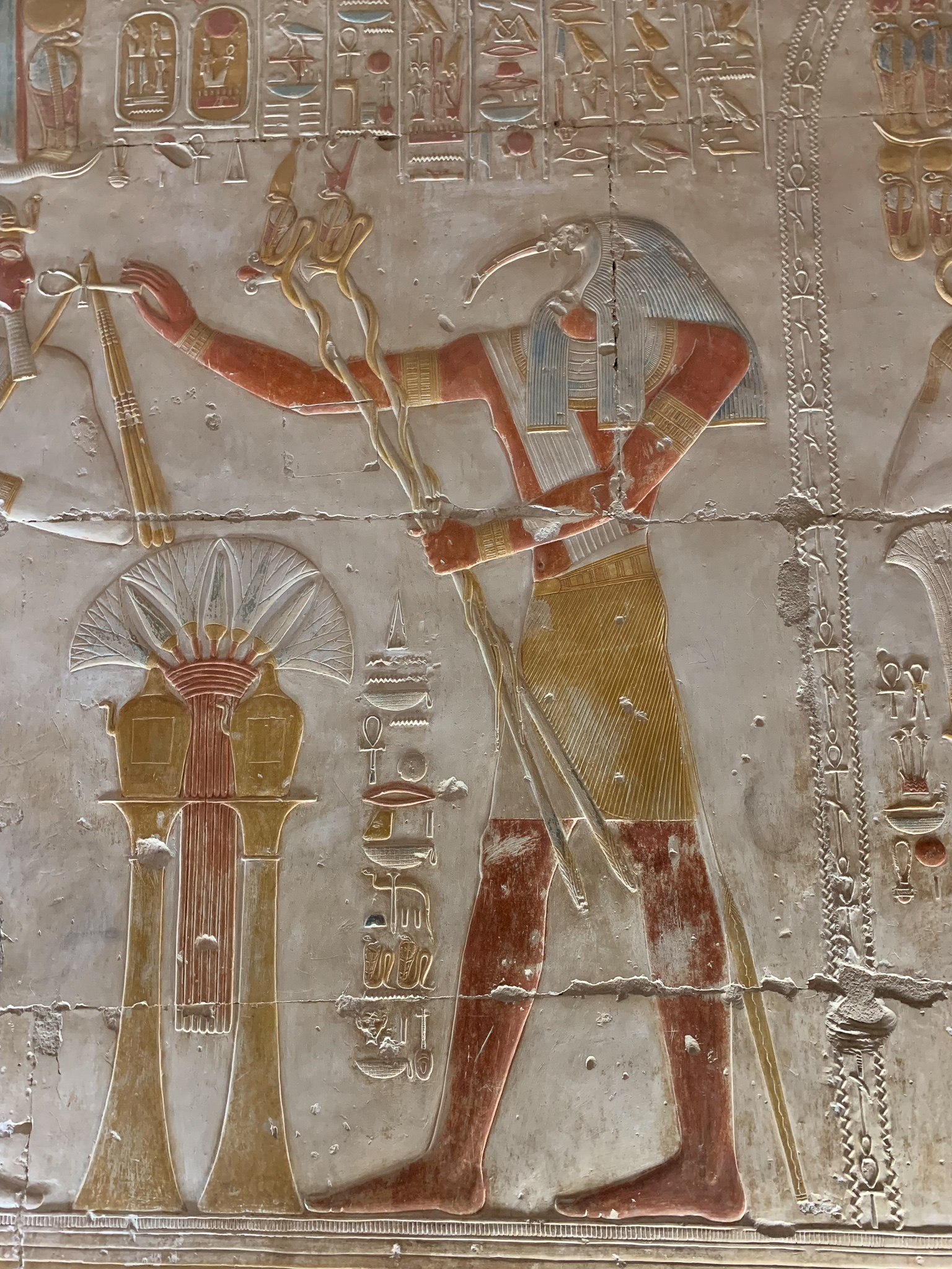Abydos, the temple of Seti I