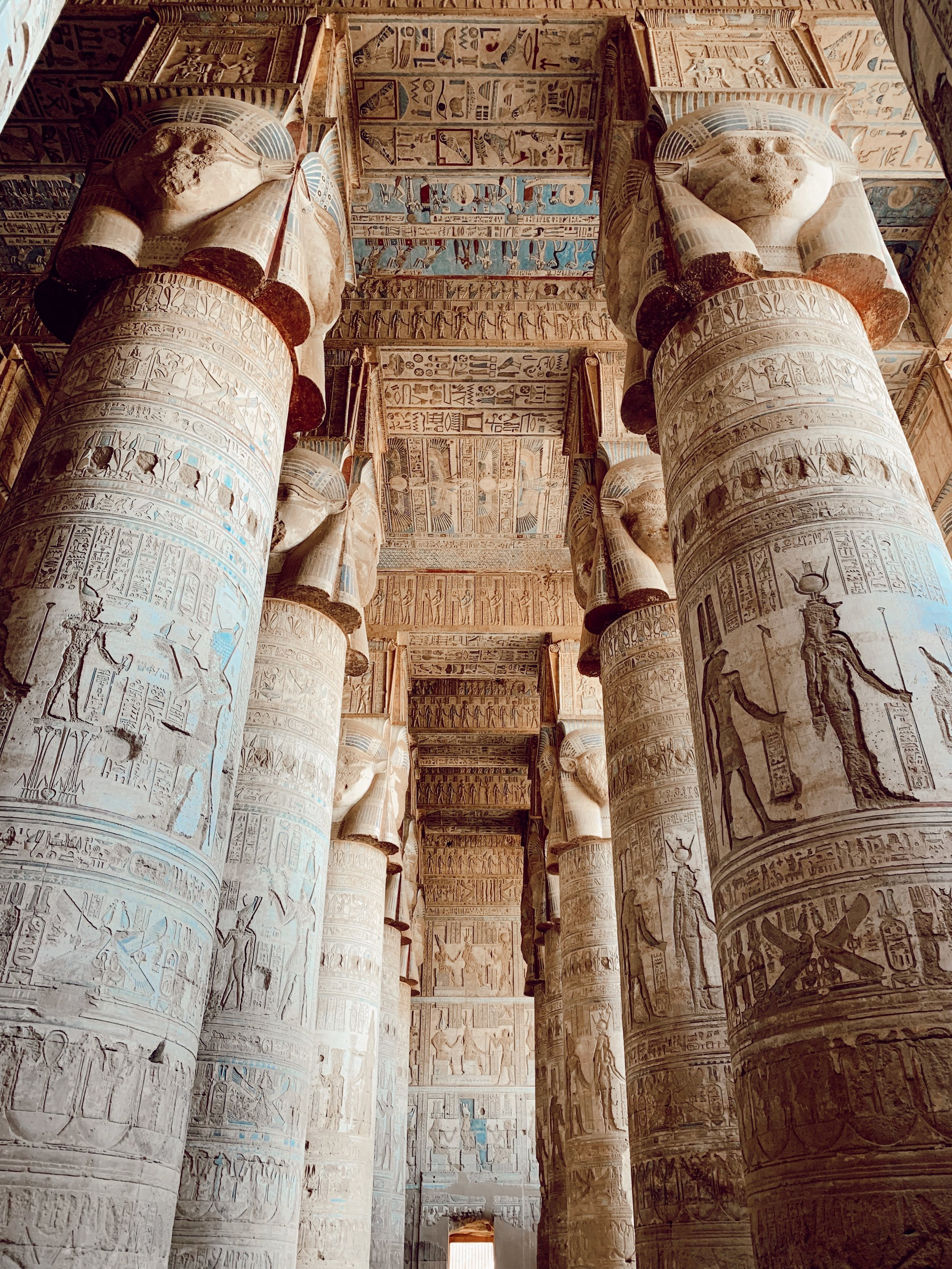 The Temple of Hathor, Dendera