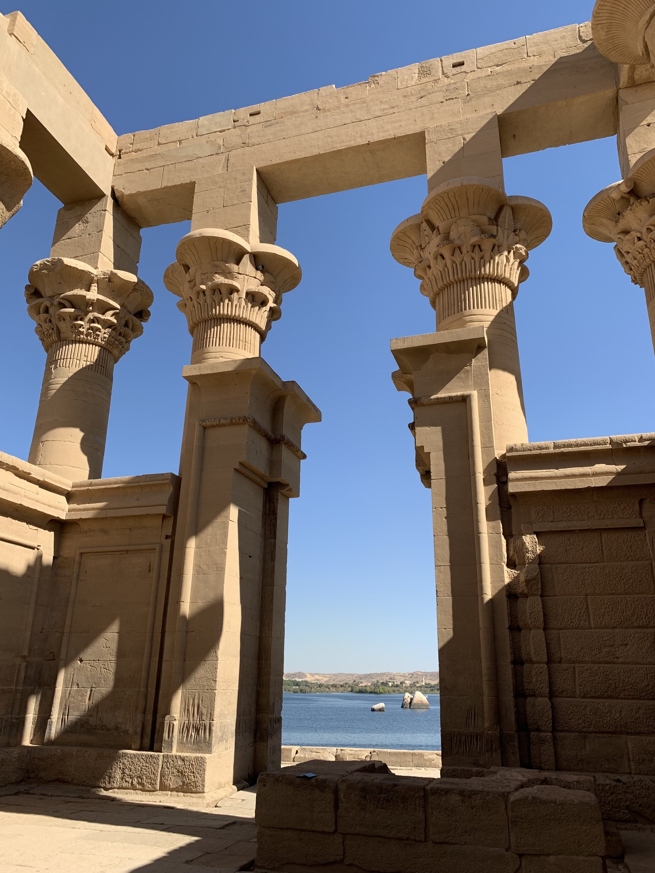 Philae, The Temple of Isis, Aswan