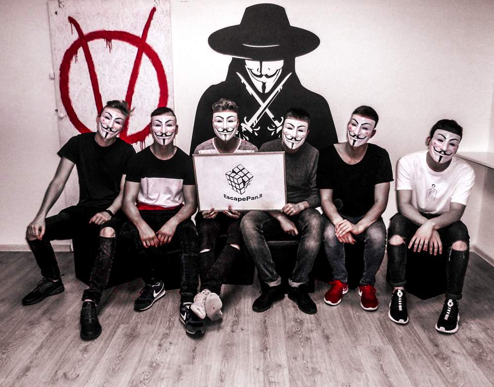 "Komanda. Pabėgimo kambarys ""Vendetta""."