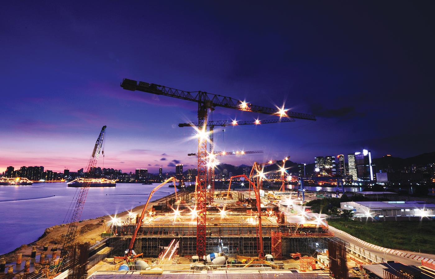 Hong Kong Kai Tak Cruise Terminal - USING AQUAMEXOIL RELEASE AGENT