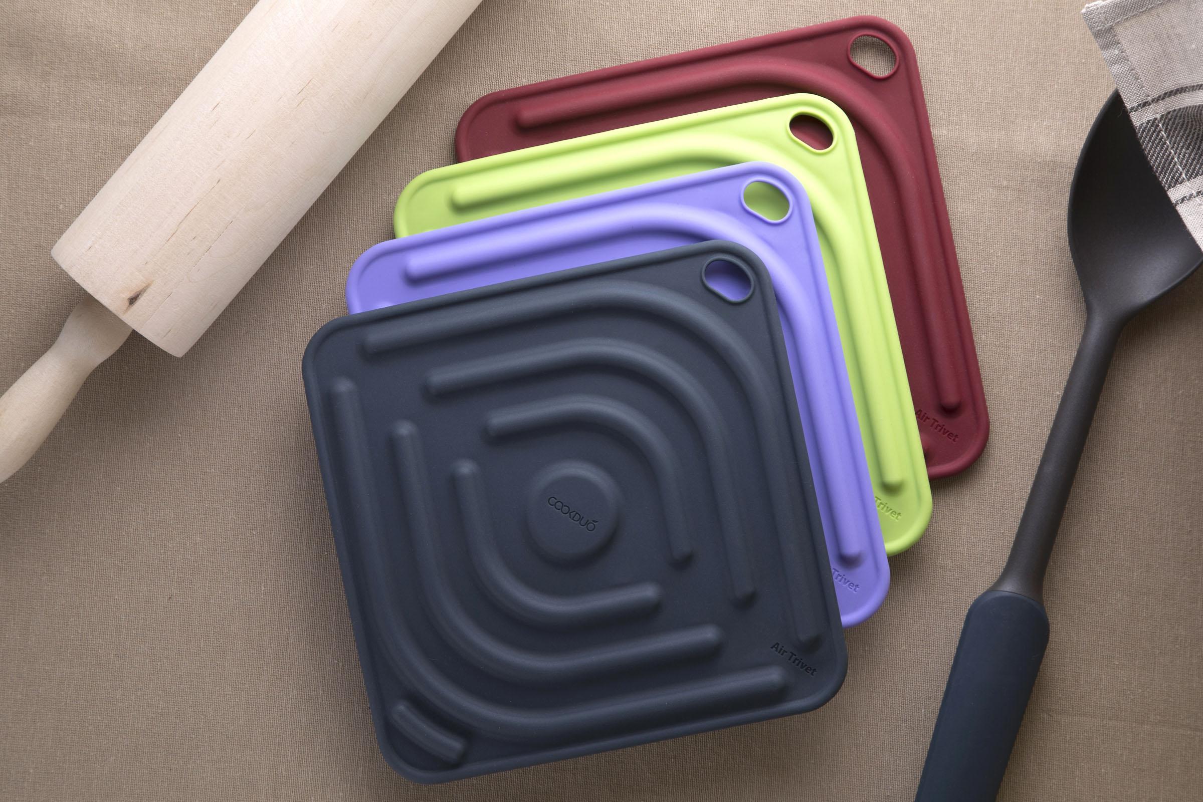 Air Trivet - Silicone trivet & pot holder