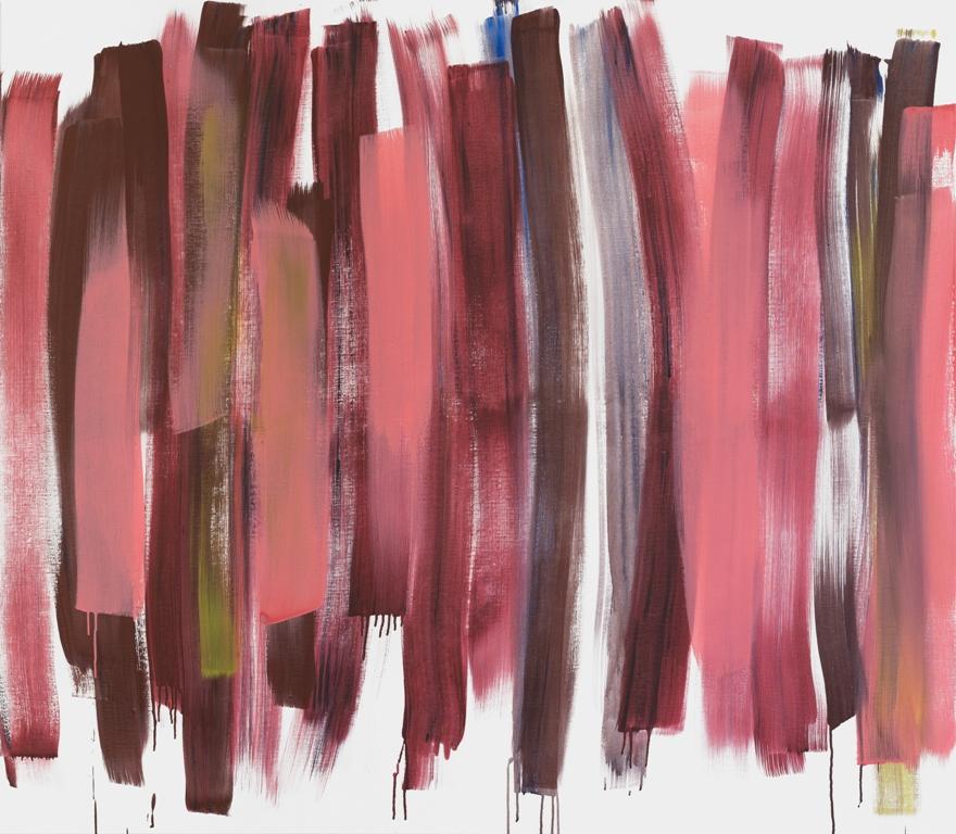 Red Joy, 140 x 160, akryl på lerret