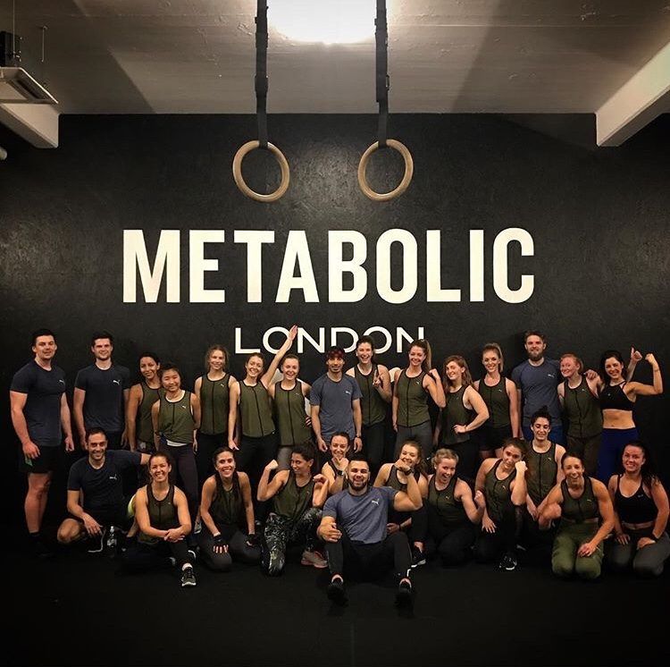 I MOVE ME METABOLIC SIGNATURE CLASS LONDON BOUTIQUE FITNESS STUDIO GROUP SHOT