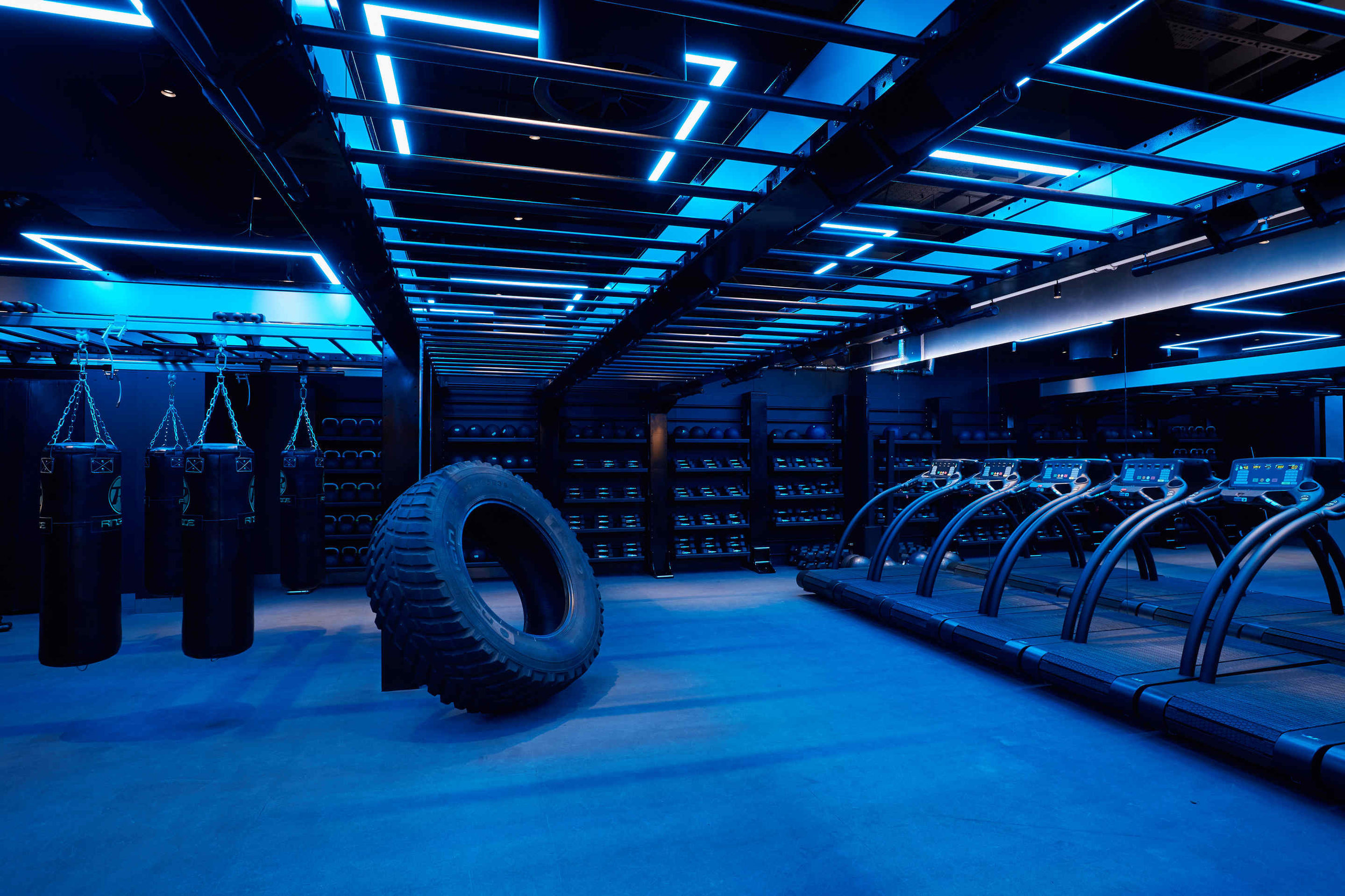 I MOVE ME THE GAMES KXU CHELSEA LONDON BOUTIQUE FITNESS STUDIO TYRE