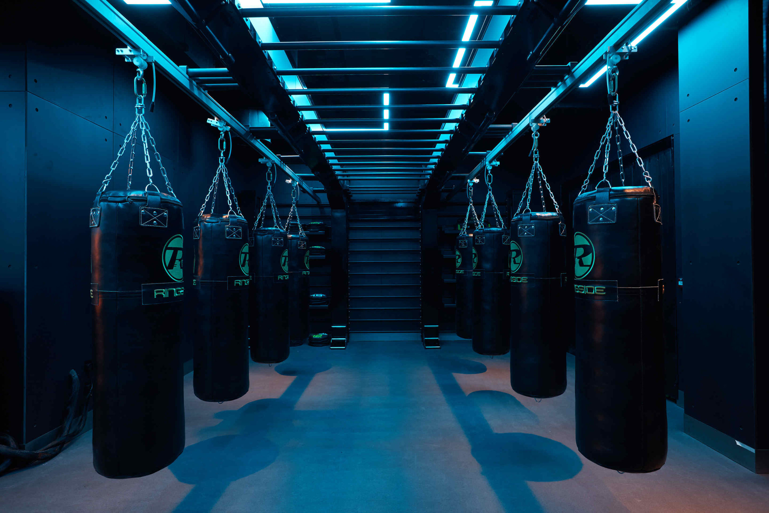I MOVE ME THE GAMES KXU CHELSEA LONDON BOUTIQUE FITNESS STUDIO PUNCHBAG