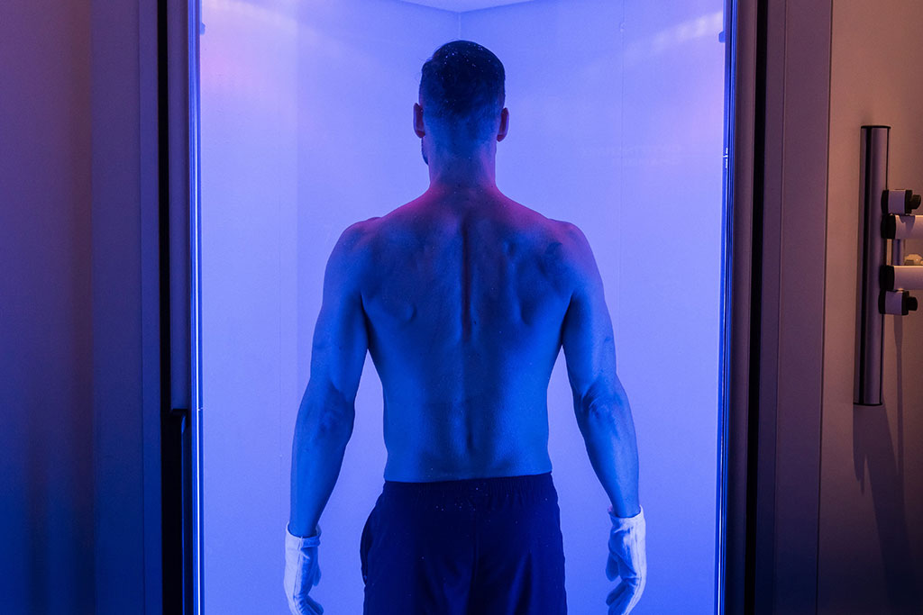 I MOVE ME THE GAMES KXU CHELSEA LONDON BOUTIQUE FITNESS STUDIO CRYOTHERAPY CHAMBER