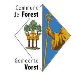 Avec l'autorisation de la Commune de Forest, propriétaire du terrain