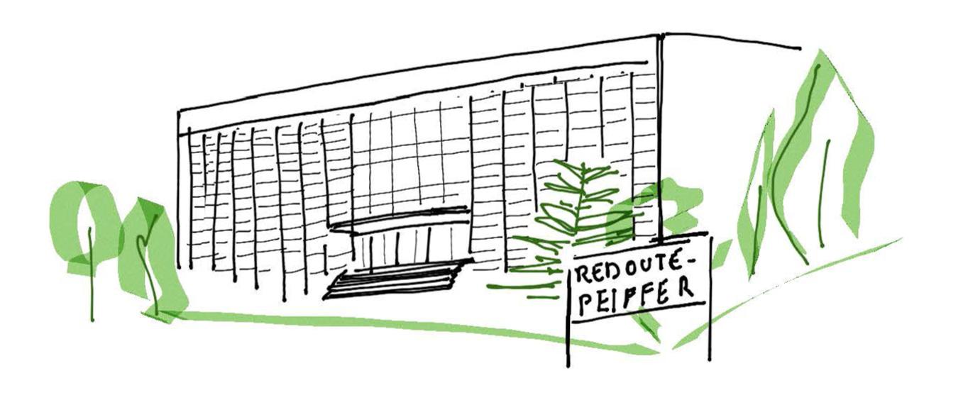 Institut de Redouté-Peiffer, rue Marius Renard à Anderlecht