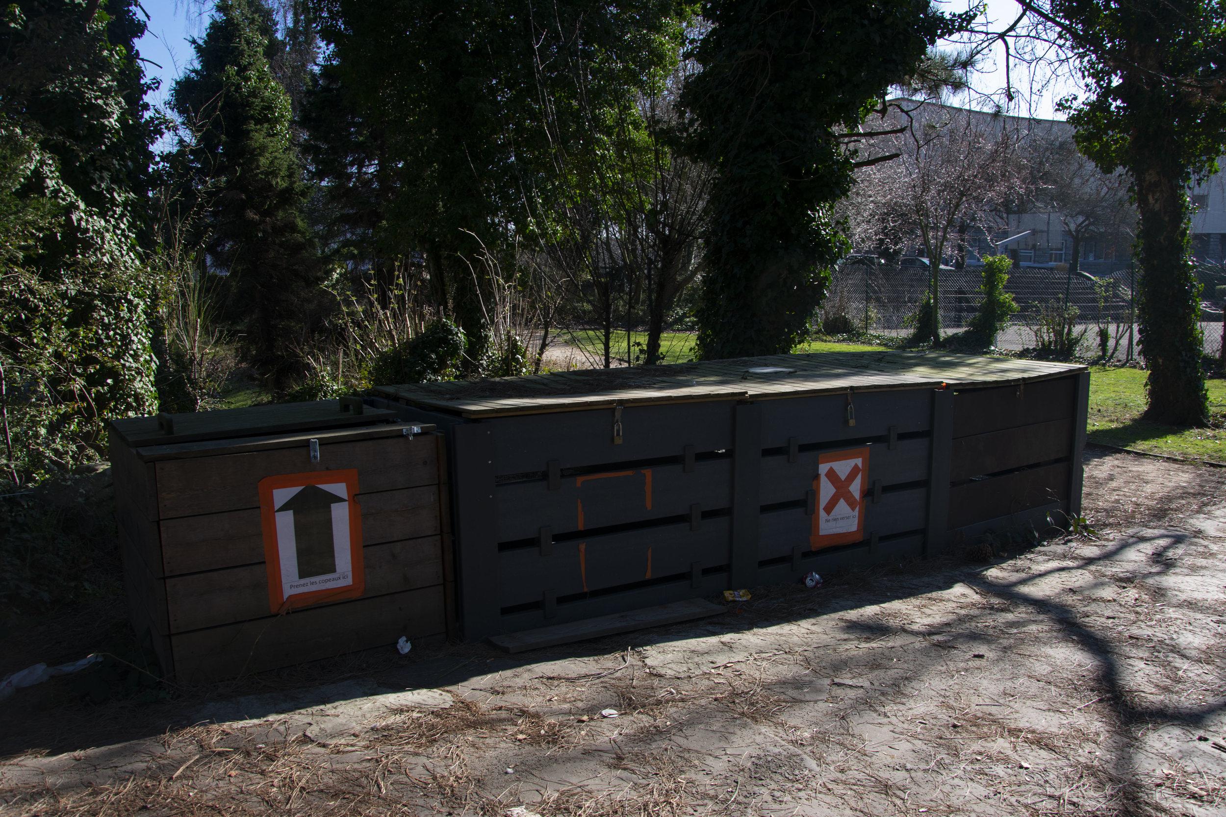 Le compost pour les écoles de restauration