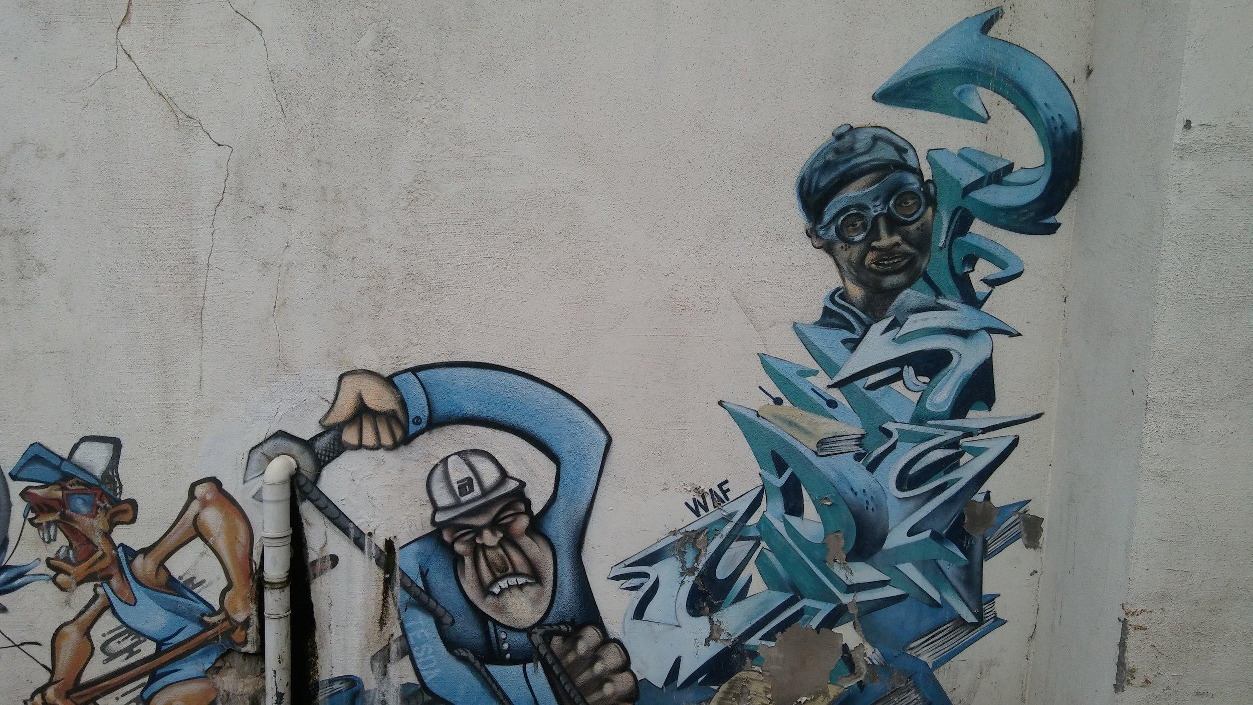 Heureusement il y a le street art