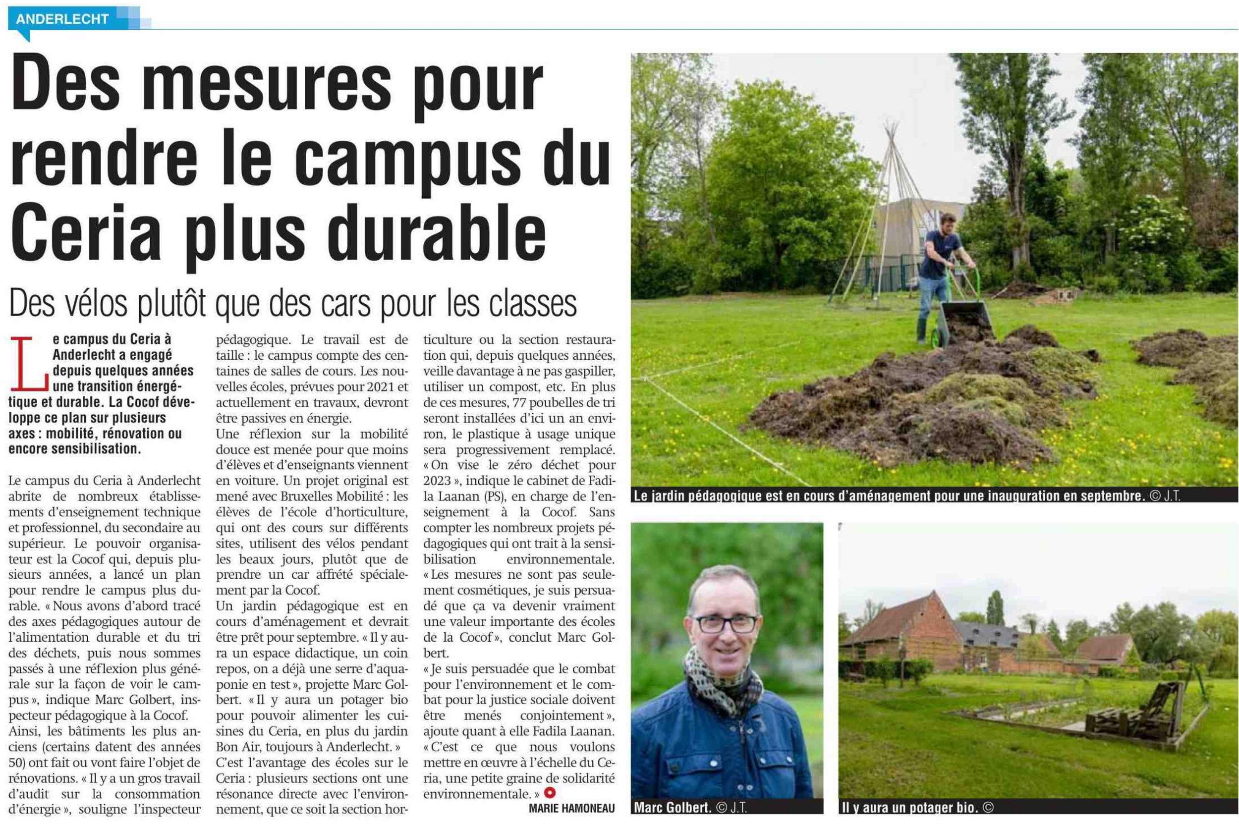 Article de La Capitale le 24/05/2019