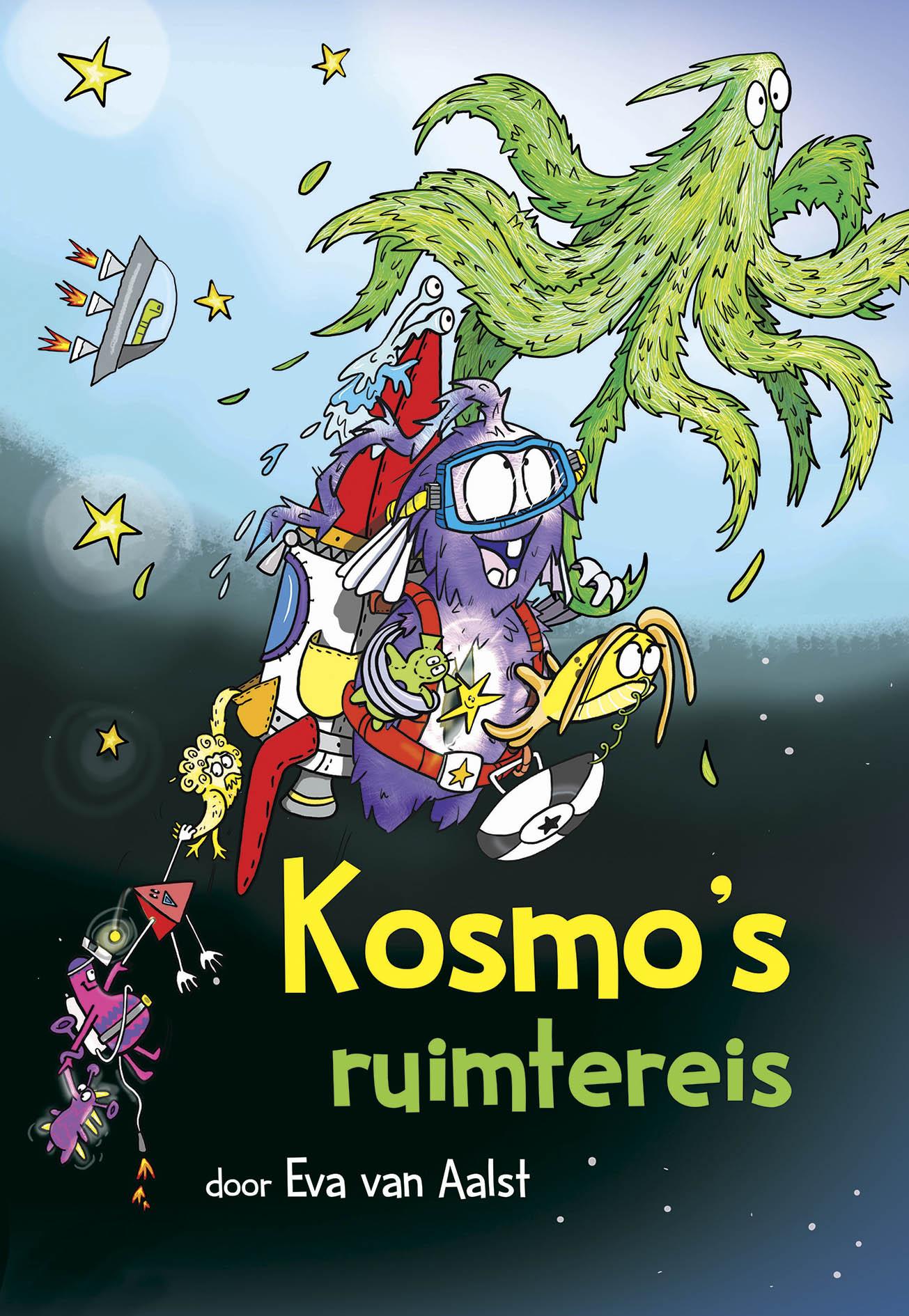Kosmo's ruimtereis - Geschreven en geïllustreerd door Eva van AalstUitgegeven door Uitgeverij Randazzoaugustus 2019www.kosmosruimtereis.nl