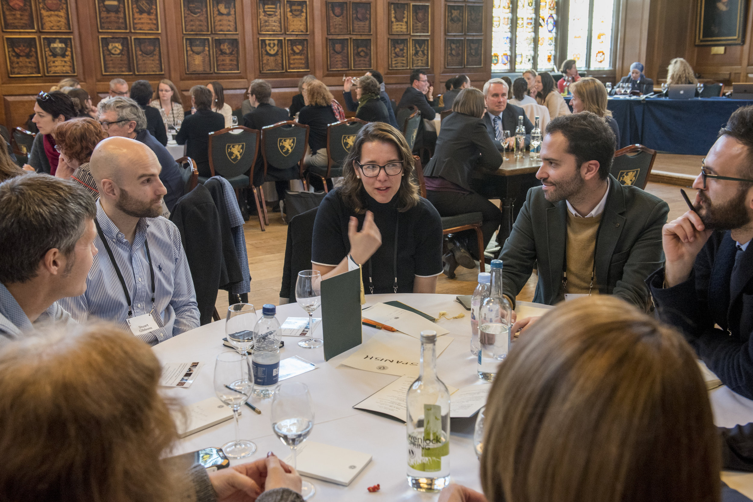 Table Workshops - Each table will address a key theme for the profession - chosen by the delegates themselves.