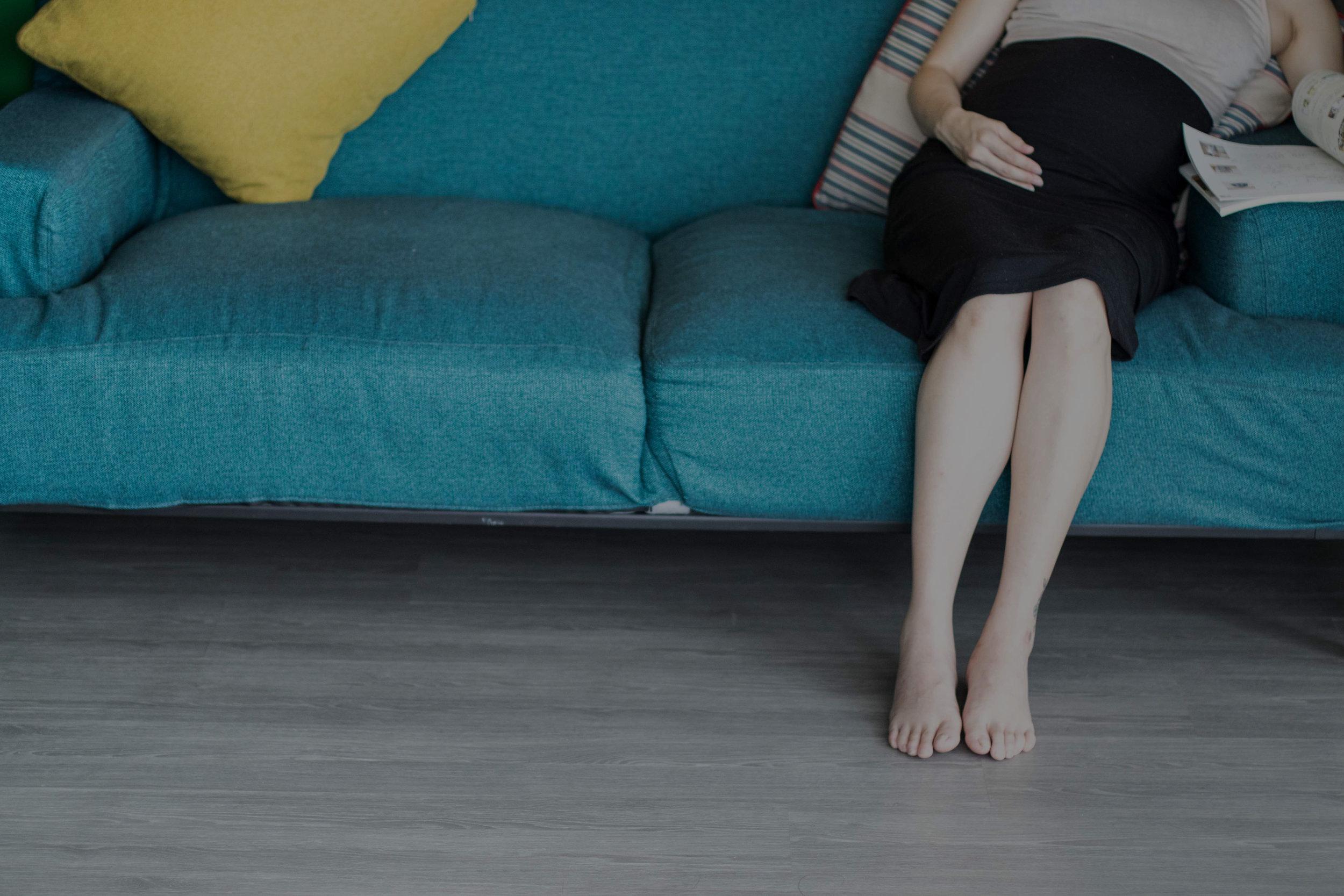 最愛在家裡光著腳走來走去,超暖超舒服。 - - Karen