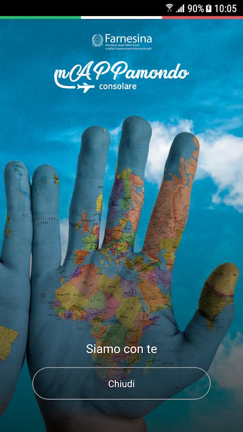 Scarica mAPPamondo consolare: tutte le informazioni per gli italiani stabilmente o temporaneamente residenti all'estero sul tuo smartphone! - Google PlayApple Store