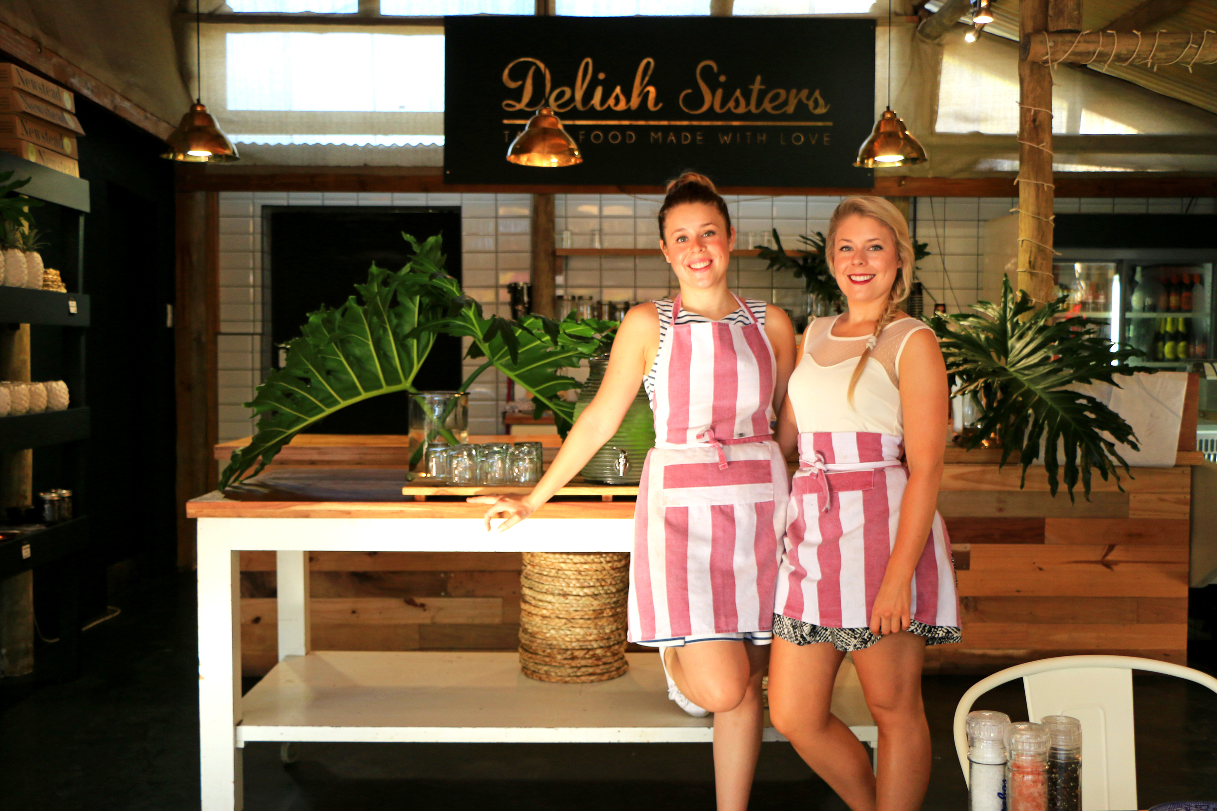 Delish Sisters Cafe - The heart of the business, the cafe serves up wholesome dishes using seasonal ingredients.