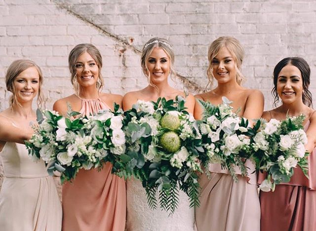 Our beautiful bride Sharni and her gorgeous girls. We created a lush green boho vibe, soon to be featured on our website . . . . . @mekafloral#adorneventstyling #weddinginspo #tasmania #weddingplanning #weddingstyling #eventstyling #wedspiration #weddingideas #eventinspo #weddingdeco #bohowedding #bohobride #tasmanianweddingstylist