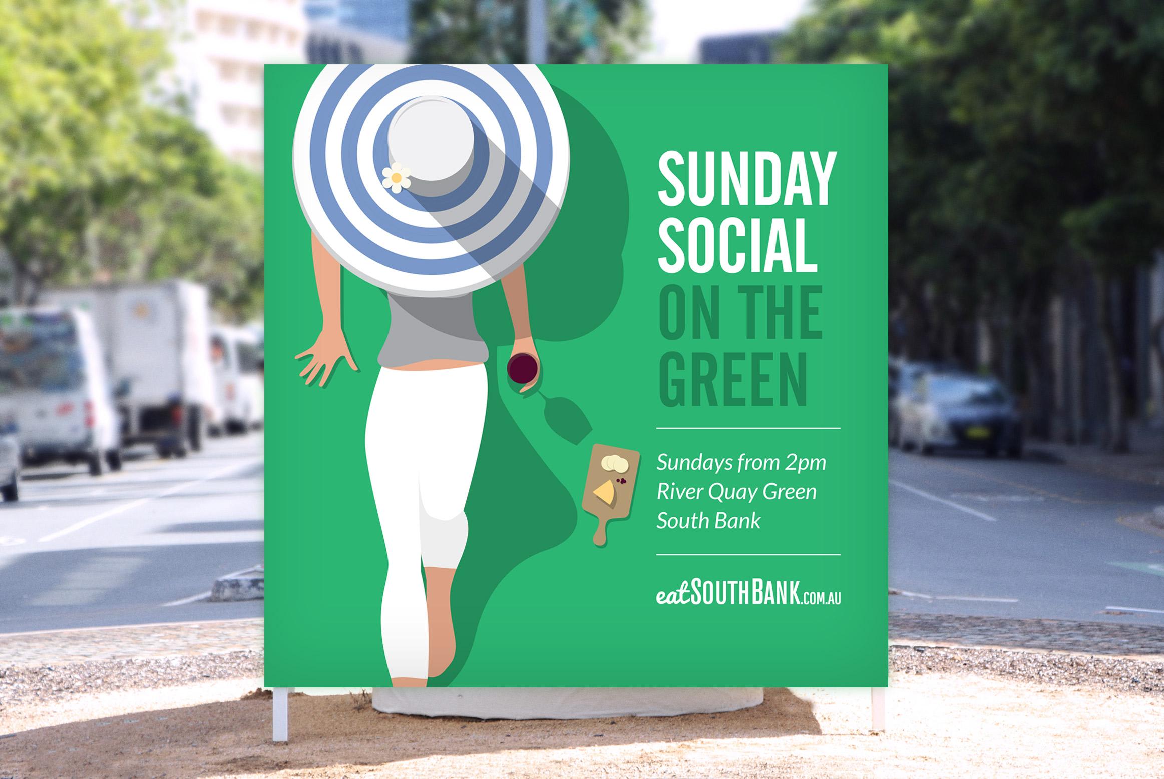 sunday social on the green