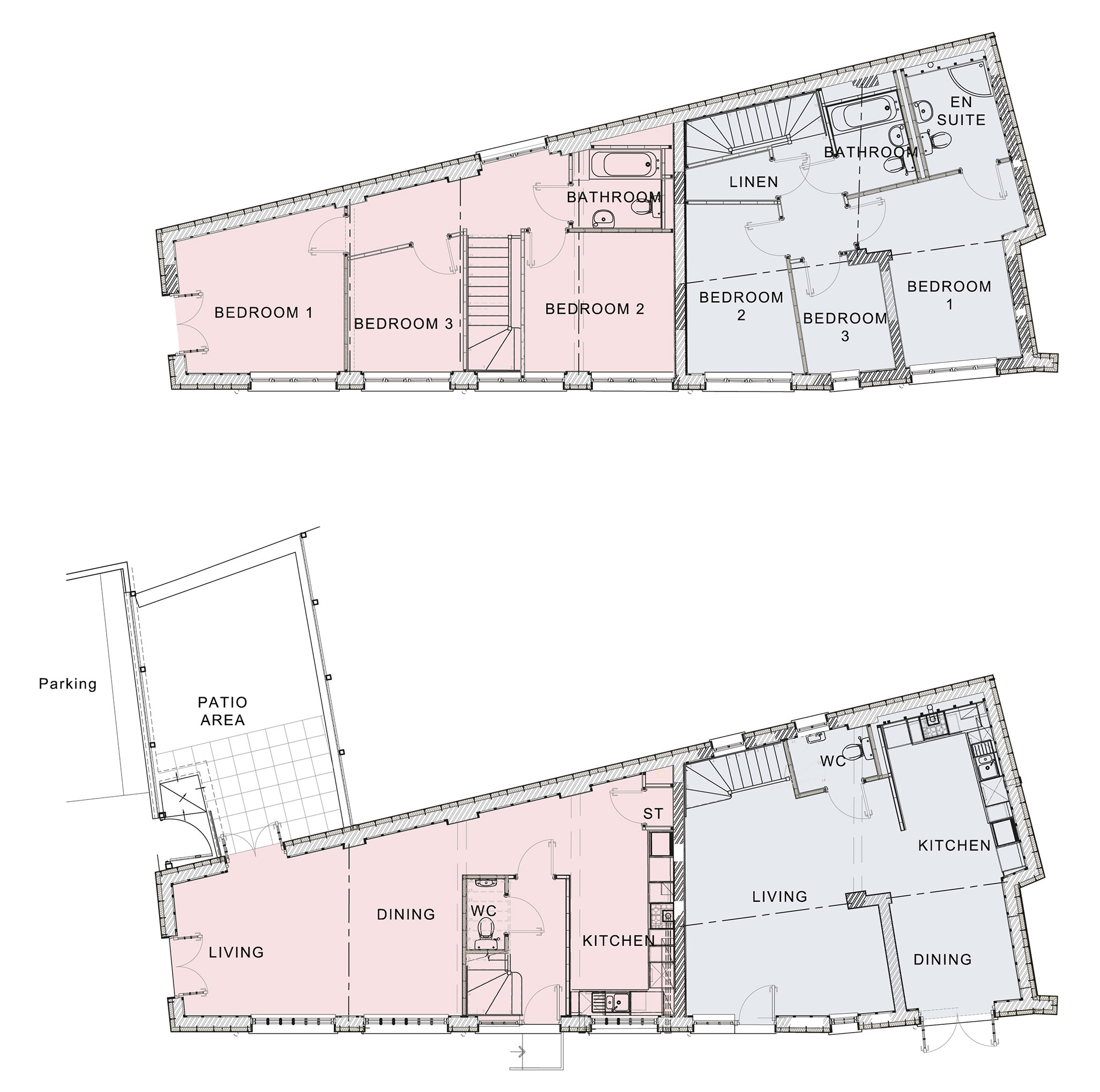Ground and first floors - click on plans to enlarge