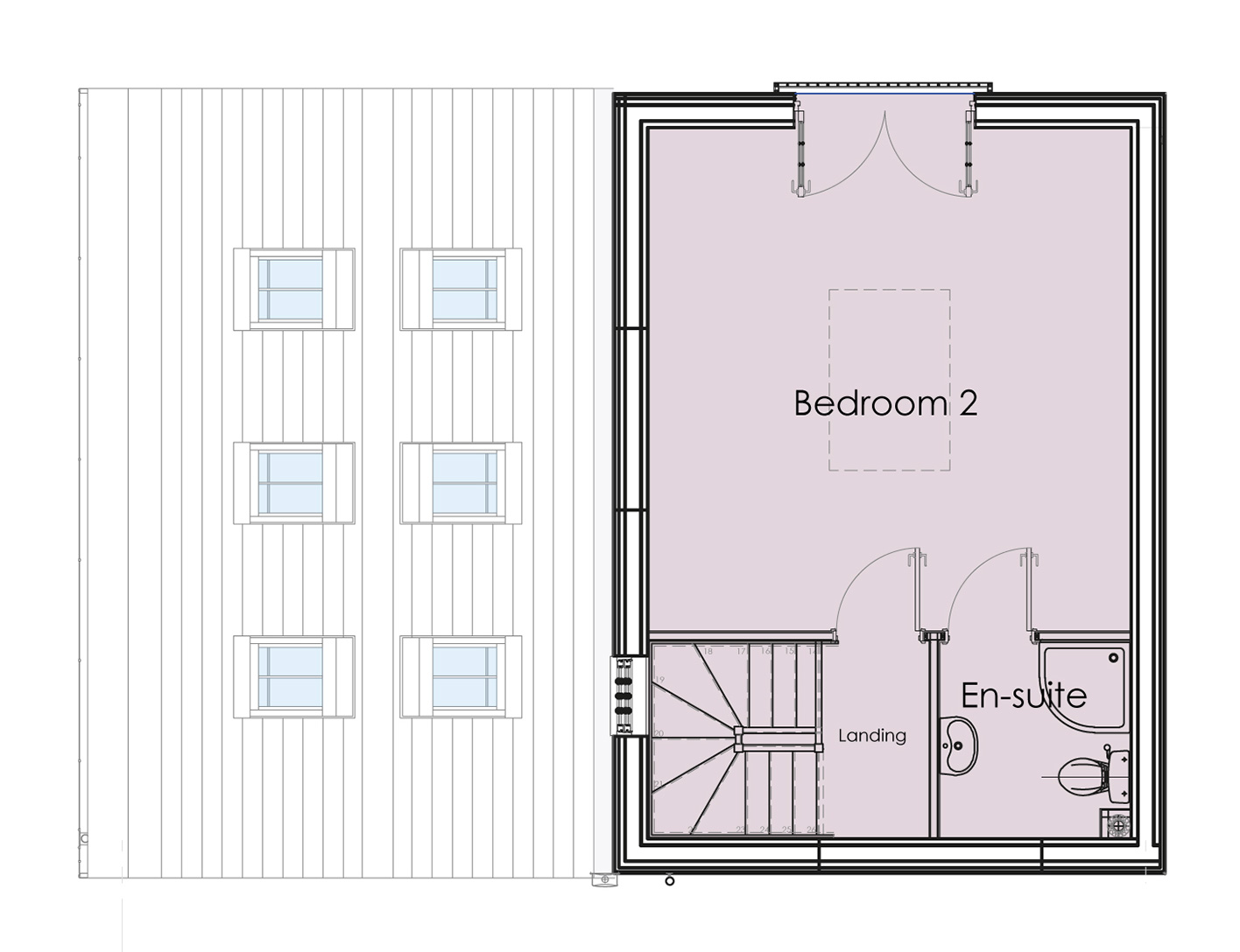 Second floor - click on plan to enlarge